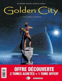 Golden City - pack 30 ans T.1 à T.3