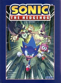 Sonic the hedgehog T.4