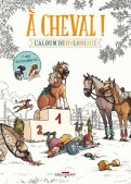 À cheval ! - album de coloriage
